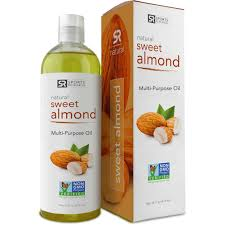 carrier oils for hair. sweet almond oil 16oz. non- gmo and hexane free, 100% natural carrier oils for hair u