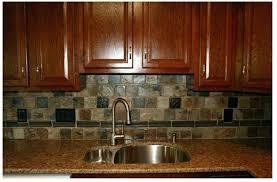 stone veneer kitchen backsplash. Slate Kitchen Backsplash A Beautiful Tile That Compliments The Dark Cabinets And Granite Stacked Stone . Veneer