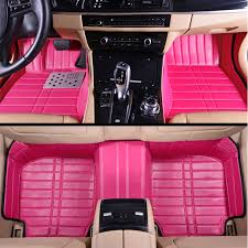 girly car floor mats. Unique Car Online Shop Girls Womenu0027s Personality High Quality Fashion Full Surrounded  Pink 5d Customized Car Floor Mats For All Models  Aliexpress Mobile To Girly Car Floor Mats K