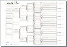 41 Best Genealogy Blank Forms Templates Images