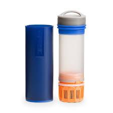 water purifier bottle. Grayl Ultralight Water Purifier Bottle Blue -