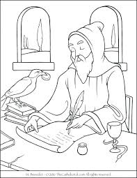 St Francis Of Assisi Coloring Page Alohapumehanainfo