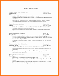 Sample Resume For College Students Utd Template Best Of Student