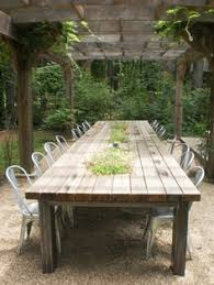 diy outdoor table. Sawyer Cottage Rental - Poolside Outdoor Dining Table (seat Up To 16) Diy