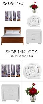Small Picture Bedroom by lily abbey liked on Polyvore featuring interior