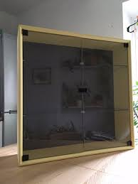 unparalleled wall cabinet glass door ikea norns glass door wall cabinet storage pine painted
