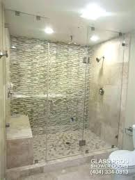 brave cost of frameless shower doors glass shower enclosures cost average cost to install a frameless