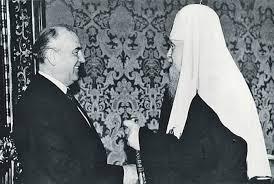 Картинки по запросу сталин и патриарх
