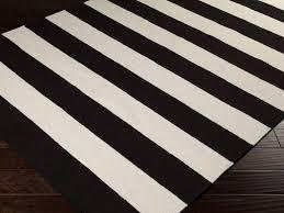 stylish black and white striped rug inside ideas editeestrela design designs 14