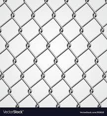 Metal Fence Royalty Free Vector Image VectorStock