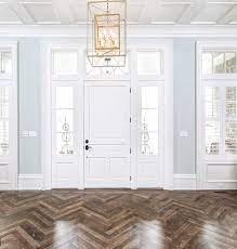 design trend herringbone wood floors