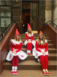 diy costumes squad elf on the shelf costumes perfect for a girls costume idea