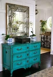 turquoise painted furniture ideas. Turquoise Chest Of Drawers - Antique Mirror Entry Painted Furniture Ideas