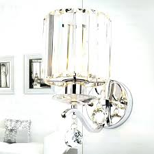 crystal chandelier wall sconces shiny crystal shade hardware fixture modern wall sconces with regard to incredible crystal chandelier wall sconces