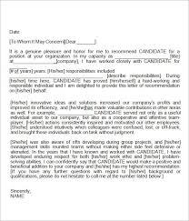 letter of recommendation template for nursing student 7 best reference letter images on pinterest letter templates