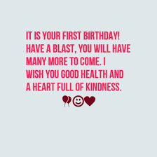 First Birthday Quotes Best 48 Happy First Birthday Wishes WishesGreeting