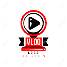 Online Badge Trendy Logo With Play Button In Circles Original Badge For Online