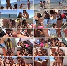 Real Sex Party On The Sunny Beach Part 3 Agnessa Carla Leila.
