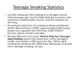 essay of smoking cigarette