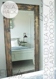 diy mirror frame. Unique Mirror Diy Wall Mirror Frame Fresh Upcycled Ikea Hack With Plans   On