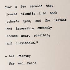 War And Peace Quotes Simple Hey I Found This Really Awesome Etsy Listing At Wwwetsy