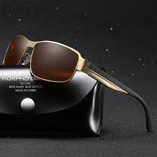 <b>2019 Fashion Square</b> Metal Polarized Sunglasses Retro <b>Men</b> ...