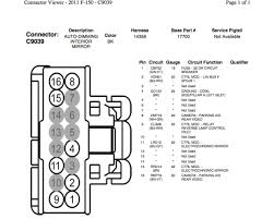 ford f mirror wiring diagram discover your wiring 2011 ford f150 mirror wiring diagram nodasystech