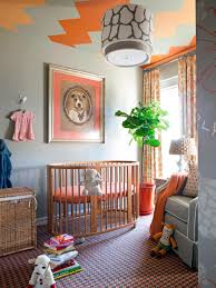 Multi Purpose Guest Bedroom Using One Space As A Guest Room And Nursery Hgtv