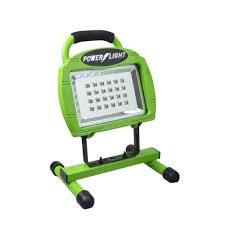 Green Led Work Light Designers Edge High Intensity Green 24 Led Rechargeable