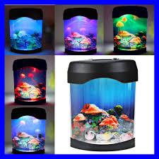 fish tank lighting ideas. Fish Aquarium Night Light Best New Retro Aquatic Mini Jelly Tank Led Water Lighting Ideas S