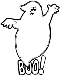 Ghost Coloring Page Fun Halloween Ideas Pinterest Halloween