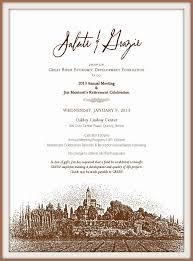 Invitation Design Ideas Examples Of A Formal Invitation