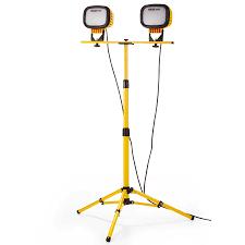 Led Dual Head Work Light With Tripod Prolight 6000 Dual Head W Tripod Southwire Tools