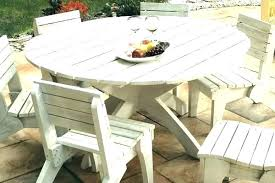 full size of wooden patio dining table plans deck outside round bench wood with back 3