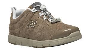 Propet Travel Walker Classic Taupe W3218 Walking Shoe In A Wd Width
