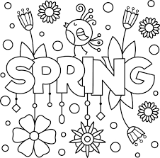 Coloring Pages Free Printable Spring Coloring Pages For Kidskids