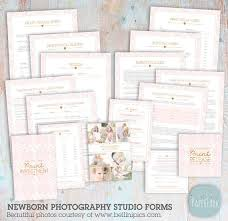 Photography Contracts Newborn Photography Contracts And Forms Set Ng035 Instant Download