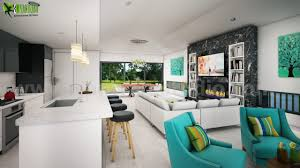 Design office space dwelling Desk Residential 3d Elevation Rendering Design Mackay Freshomecom 3d Interior Design Firms Concept House Home Cgi Drawings By