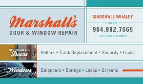 marshall s door window repair