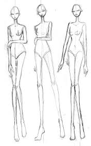 Free Fashion Croquis Cartooning Guides Fashion Illustration Face