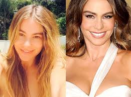 sofia vergara stars without makeup celebrity nevina