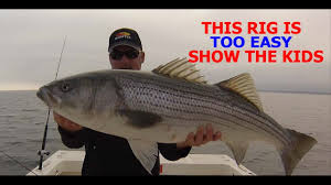Rigging a striped bass fishing boat