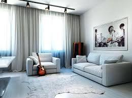 track lighting in living room. Light Living Room Track Lighting With White Upholstery Sofa Picture Square Table And Unusual In T