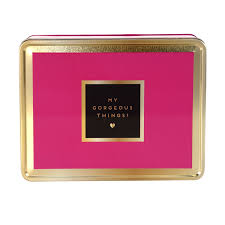 decorative office storage. Simple Office Pink And Gold Decorative Storage Tin For Student Office Storage With