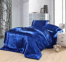royal blue bedding set silk fitted bed sheets satin super king with comforter ideas 5