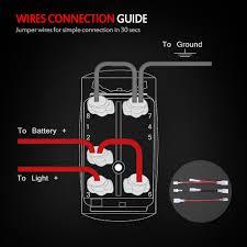 5 Pin Lighted Rocker Switch Wiring Diagram 5 Pin Rocker Switch Wiring Wiring Diagram General Helper