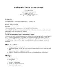 General Office Clerk Resume Resume Sample Directory