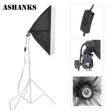 ashnaks photographic equipment photo studio softbox fotograficatent 50x70cm with single lamp holder for e27 continuous lighting