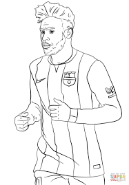 How To Color Lionel Messi And Cristiano Ronaldo Coloring Pages