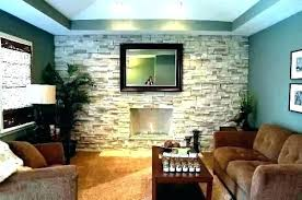 fireplace rock wall design stone brick remove wal